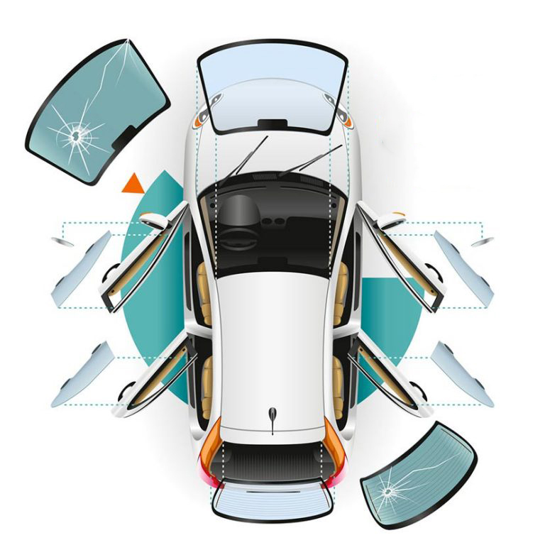 automobiliu stiklai